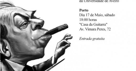Eduardo Barreto - Villa Lobos Apresentação de guitarra clássica, antecedida por uma breve palestra acerca da vida e obra do compositor