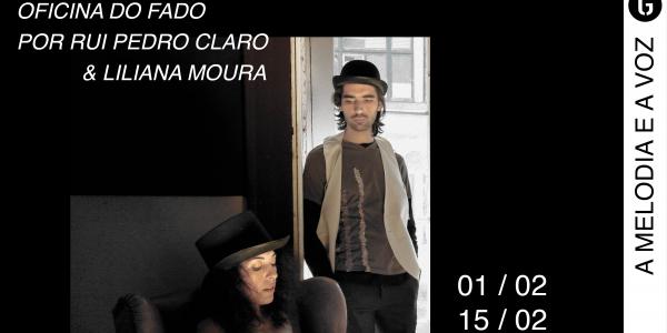 Oficina orientada por Rui Pedro Claro, músico, e Liliana Moura, actriz e formadora de técnica vocal, em que abordarão a estrutura musical e a adequação do tom à voz , entre outros elementos. 1 de Fevereiro e 15 de Fevereiro 15h-18h 20€, 1 sessão; 40€, duas sessões Participantes: nº. mínimo - 3 pessoas nrº.máximo - 10 pessoas Inscrições - geral@casadaguitarra.pt, 222 010 033