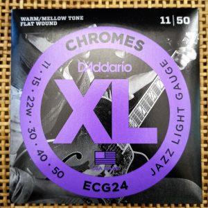 JOGO DE CORDAS D´ADDARÍO ECG24 PARA GUITARRA ELECTRICA
