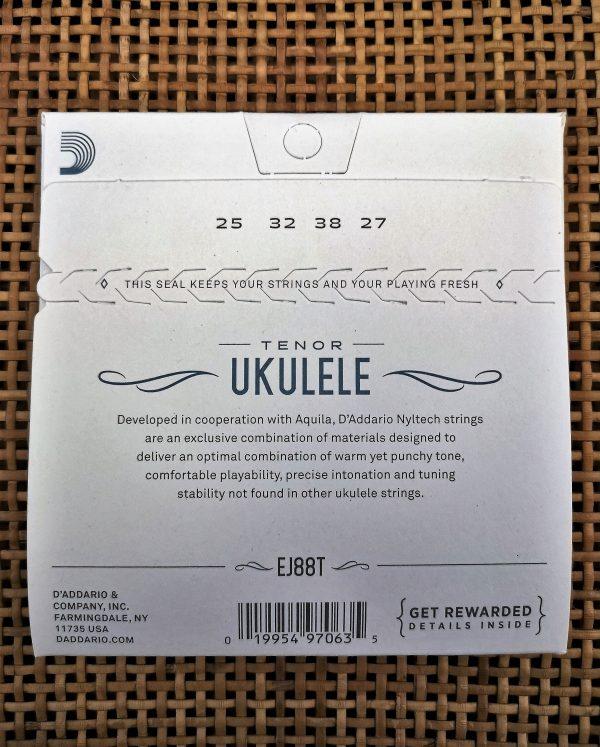 D´ADDARÍO TENOR Ukulele EJ88T Nyltech String Set