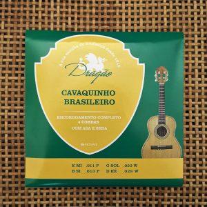 Jogo de Cordas Dragão para Cavaquinho Brasileiro em Aço Inox