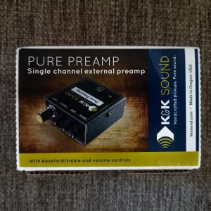 PRÉ-AMPLIFICADOR PURE PREAMP K&K SOUND