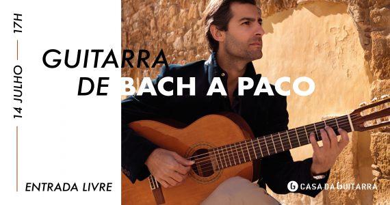 Murat Usanmaz apresenta um recital para guitarra onde irá tocar 11 peças musicais, que irão de J.S. Bach ao flamenco de Paco de Lucía, passando pela música de origem turca.