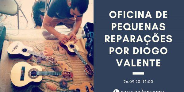 Oficina de Pequenas Reparações Diogo Valente, dos Instrumentos Valente