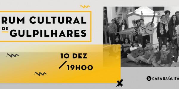 Fórum Cultural de Gulpilhares - Apresentação dos alunos de Guitarra Clássica na Casa da Guitarra Porto