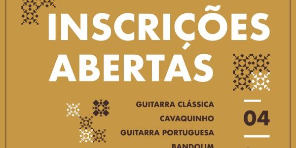 aulas, Cavaquinho, guitarra clássica, Guitarra Portuguesa de Coimbra, Guitarra Portuguesa de Lisboa, ukulele, técina vocal, acordeão