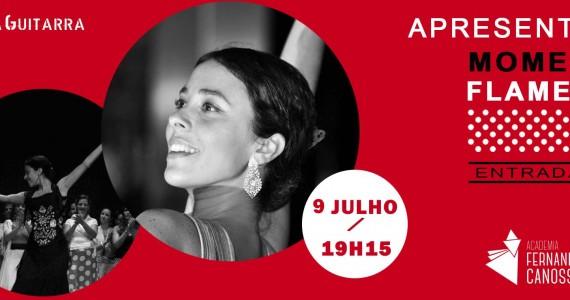 Apresentação de Dança - Momentos Flamenco. Algum do trabalho, na área das Sevilhanas e Flamenco, desenvolvido por Andreia Nascimento com as suas alunas na Academia Fernanda Canossa na Casa da Guitarra Porto