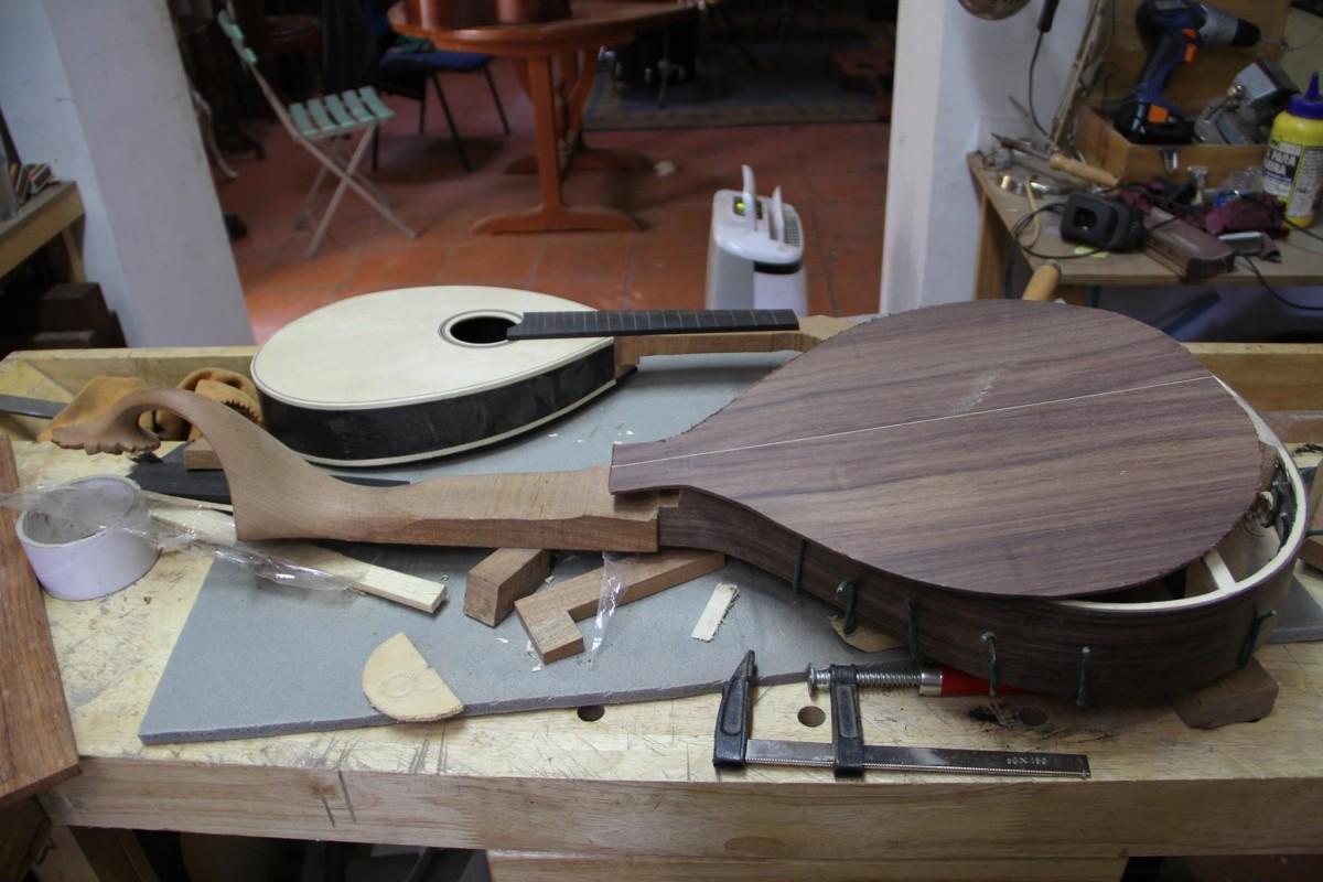 guitarra portuguesa do porto e bandolim por Alfredo Teixeira