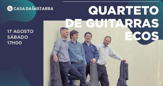 Formado por Miguel Ángel Dotto, Fernando Stern, Adrián de Rosa e David Bajdá, o quarteto de guitarras Ecos conta com 12 anos de trajectória, partilhando as suas interpretações em diversos ciclos e festivais de música de câmara no seu país - Argentina- e no estrangeiro. Nos seus concertos, apresentam um repertório composto por originais para 4 guitarras e também arranjos realizados pelos integrantes do quarteto.